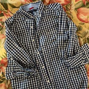 Tommy Hilfiger Big Boy's Buttondown Cotton Shirt